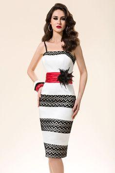 Elegant ladies formal day wear design by Michaela Louisa. This ...