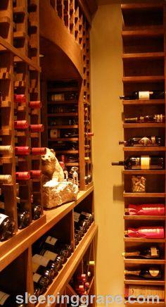 Silver Birch Wine Cellar Wine Rooms, Basement Stairs, Wine Cellars, Wine Storage, Wine Rack, Birch, Wine Glass Storage, Wine Racks, Cellar Doors