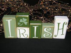 Dejavu*Crafts: St. Patricks Day decorations