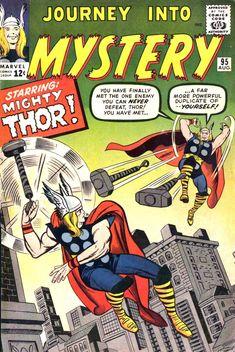 Journey into Mystery vol.1 #95 (Agosto 1963) Autores: Jack Kirby, Dick Ayers, Stan Goldberg y Artie Simek