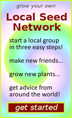 Grow your own Local Seed Network