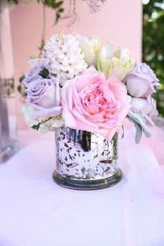 Such a cute little centerpiece!