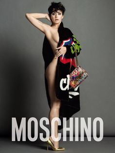 Smartologie: Katy Perry for Moschino Fall 2015 Campaign