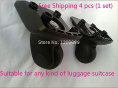 High quality Replacement Luggage Suitcase Spinner 360 wheels For Top Brand