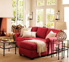 Popular Red Sofa Living Room Ideas Decor