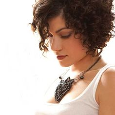 New Short Hairstyles for Curly Hair 2014