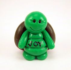 Hey, I found this really awesome Etsy listing at http://www.etsy.com/listing/103363642/polymer-clay-turtle-miniature-fruit-of