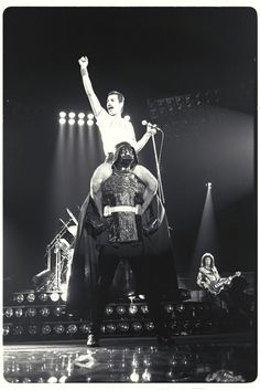 Freddie Mercury + Darth Vader. How awesome is that?!?