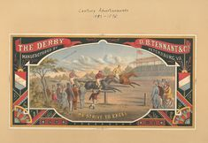 Scrapbooks of colored advertising cards in Engl...