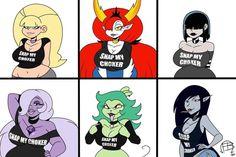 Cartoon Crossovers, Cartoon Tv, Girl Cartoon, Thicc Anime, Anime Art, Starco Comic, Funny Memes Images, Pirate Art, Pokemon Comics