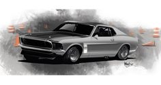 Automotive Art by Anthony Sims