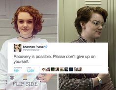 Stranger Things' Barb Has Opened Up About Her History Of Self Harm