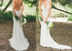 Hey, I found this really awesome Etsy listing at https://www.etsy.com/listing/191306310/sexy-mermaid-wedding-dress-backless