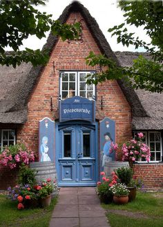 Friesenhaus on the Island of Sylt, Germany