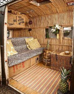 Bamboo Interior - VW Camper Blog
