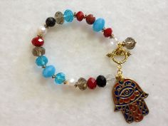 Hand of Fatima Bracelets by hebaalayyan on Etsy, $18.00