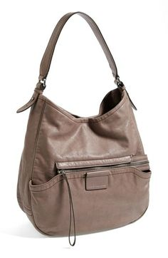 MARC BY MARC JACOBS 'Moto' Leather Hobo available at #Nordstrom $498