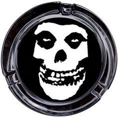 Misfits Skull Ashtray