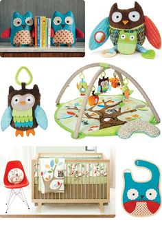 Owl nursery.  I love this too...probably would be doing if was having a girl, so much cute pink owl stuff out there now!