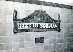 From grotesque to quirky: a history of Berlin told through U-Bahn typography