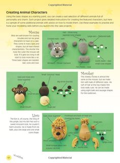 Pointers for creating animal characters