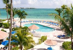 Nassau, Bahamas -The Blue Water Resort Pool by Bluegreen-Resorts