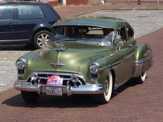 Read More About 1950 Oldsmobile 88 coupe. Mopar, Vintage Cars, Antique Cars, General Motors Cars, Automobile, Old American Cars, Oldsmobile 88, Michigan, 50s Cars