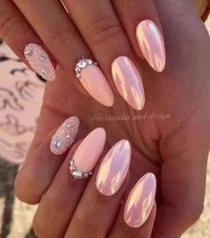 outstanding classy nail designs ideas for your ravishing look 20 80 Free pattern and Tut. outstanding classy nail designs ideas for your ravishing look 20 80 Free pattern and Tut. Acrylic Nails Natural, Cute Acrylic Nails, Acrylic Nail Designs, Natural Nails, Cute Nails, Pretty Nails, Nail Art Designs, Chrome Nails Designs, Peach Nails