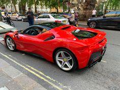 Ferrari Stradale was at HR Owen in London - cars & life Ferrari Car, Bmw Cars, Lamborghini Huracan, Koenigsegg, Super Sport Cars, Super Cars, Exotic Sports Cars, Exotic Cars, Life Car