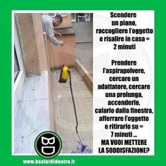 Non è pigrizia ma #creatività ! #bastardidentro #finestra www.bastardidentro.it