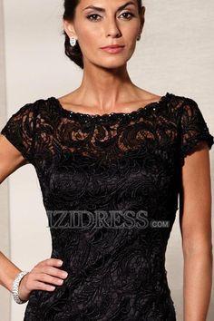 Sheath/Column High neck Lace Mother of the Bride Dresses - IZIDRESS.com