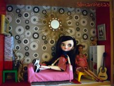Tangkou doll, Barbie y Huset mini muebles del Ikea