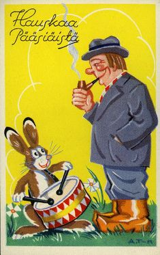 Easter Traditions, Vintage Easter, Postcards, Greeting Card