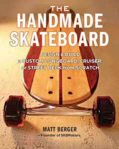 It's arrived! Buy your copy now at http://springhousepress.com/new-products/the-handmade-skateboard