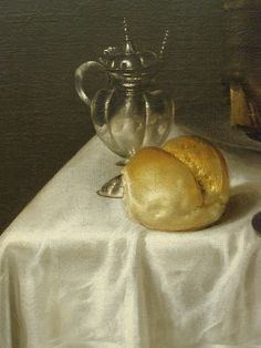 Willem Claesz. Heda, Still Life with Nautilus Cup, 1654, detail 3 by DeBeer