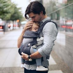 ERGObaby Four-Position 360 Cool Air Carrier (Carbon Grey)