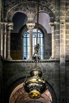 Botafumeiro. Catedral de Santiago de Compostela.(A Coruña). Galicia. Spain.