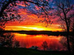 #sunrise #minnesota #lakelife #home