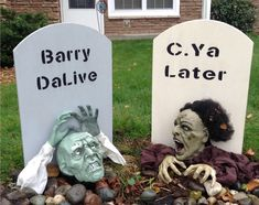 Items similar to Outdoor Halloween Decor, Wood Halloween Tombstones, Halloween Yard Decorations, Large Halloween Signs, Scary Outside Halloween Decorations on Etsy - Modern Halloween Tombstone Sayings, Halloween Tombstones, Halloween Signs, Halloween Party Decor, Scary Halloween, Halloween Items, Halloween Halloween, Outside Halloween Decorations, Yard Decorations