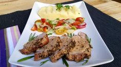 Solomillo de cerdo con romero y tomillo   Cocinar en casa es facilisimo.com