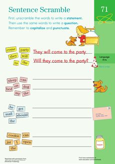 fix the sentences rainy day second grade writing kid and the sentence. Black Bedroom Furniture Sets. Home Design Ideas
