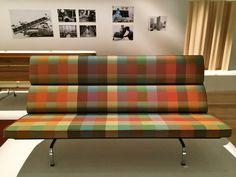 #Eames Compact Sofa in Eames Exhibition | by sangsara