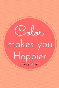 Never be afraid to use colors in your home!