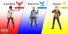 And now, for the true faces behind Team Valor, Team Mystic, and Team Instinct.