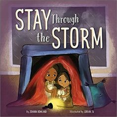 Stay Through the Storm is a heartwarming picture book that highlights the power of friendships to keep us safe through life's storms. Sweet Stories, Beautiful Stories, Uplifting Books, Christian Kids, Drawing For Kids, S Pic, Anxious, Book Format, Vivid Colors
