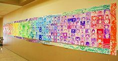 mur d'autoportrait