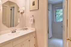 Cover a medicine cabinet door with a print bathrooms for Bathroom remodeling williamsburg va