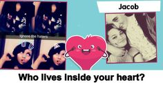 Who lives inside your heart?