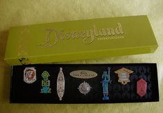 "Disneyland Anniversary ""Adventureland"" Pin Set by Miehana Disney Pins Sets, Disney Trading Pins, Disney Theme, Disney Pixar, Disneyland Pins, Disney Treasures, Tiki Art, Old Disney, Cool Pins"