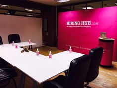 The School of Hiring Hub, all ready for our new starters.